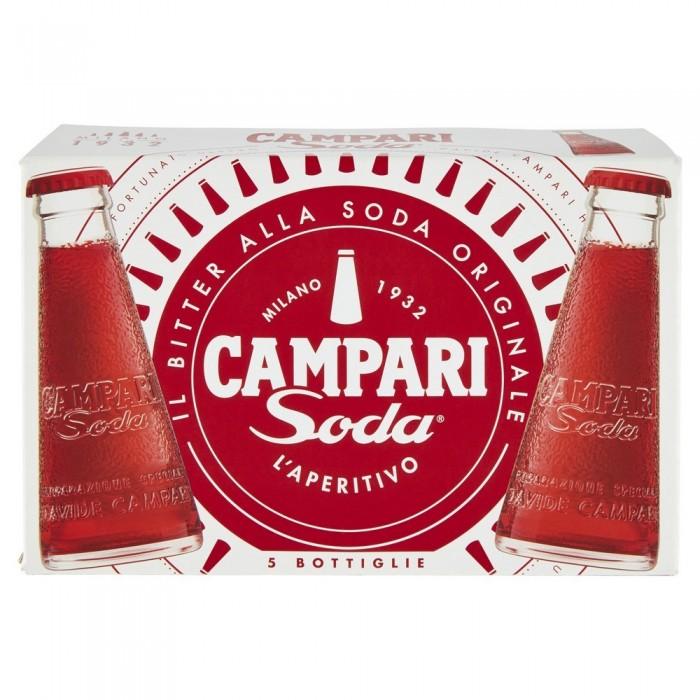 CAMPARI SODA X 5