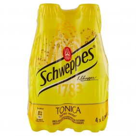 SCHWEPPES TONICA  PET 4 x 0