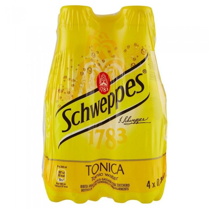 SCHWEPPES TONICA  PET 4 x 0