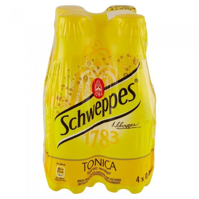SCHWEPPES TONICA  PET 4 x 0,25 CL