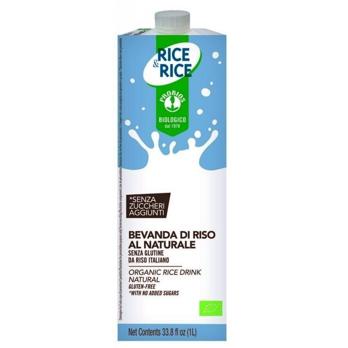 RICE&RICE PROBIOS BEVANDA RISO NATURALE LT.1