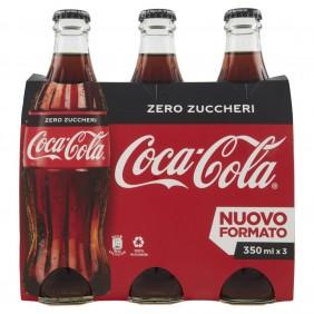 'COCA COLA ZERO VETRO CL.35x3'
