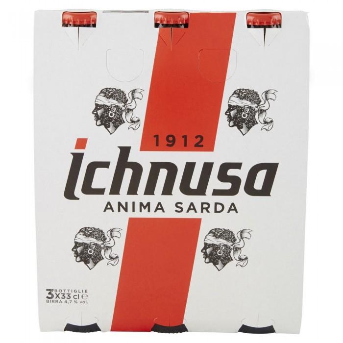ICHNUSA BIRRA  CL.33 X 3
