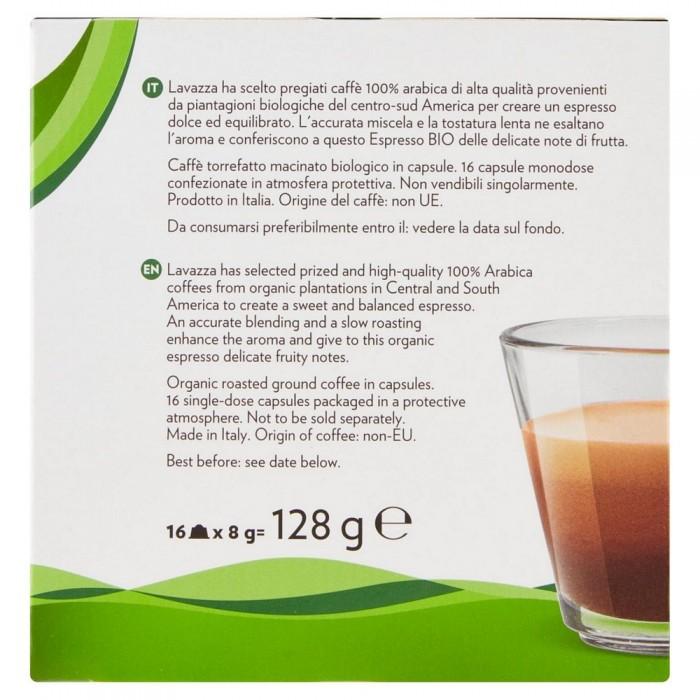 'LAVAZZA CAFFE BIO A.D X16'