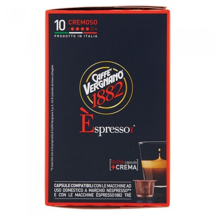 VERGNANO ESPRESSO CAPSULE CREMA  x10