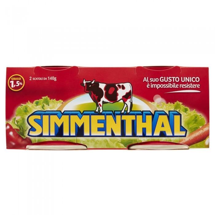 SIMMENTHAL CARNE GR.140x2