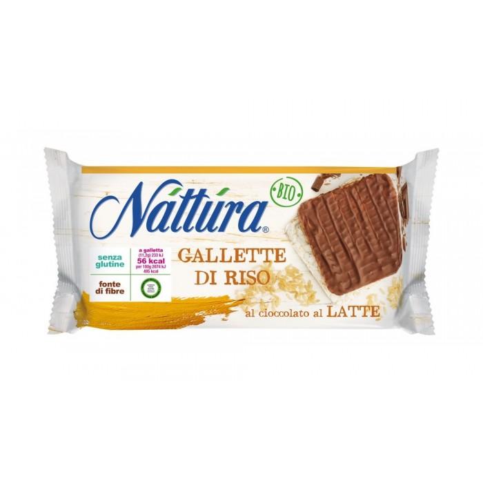 NATTURA GALLETTE RICOPERTE DI CIOCCOLATO G.90