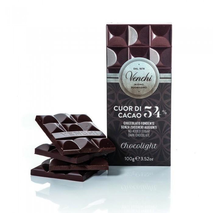 VENCHI TAVOLETTA CHOCOLIGHT FONDENTE 54% GR100