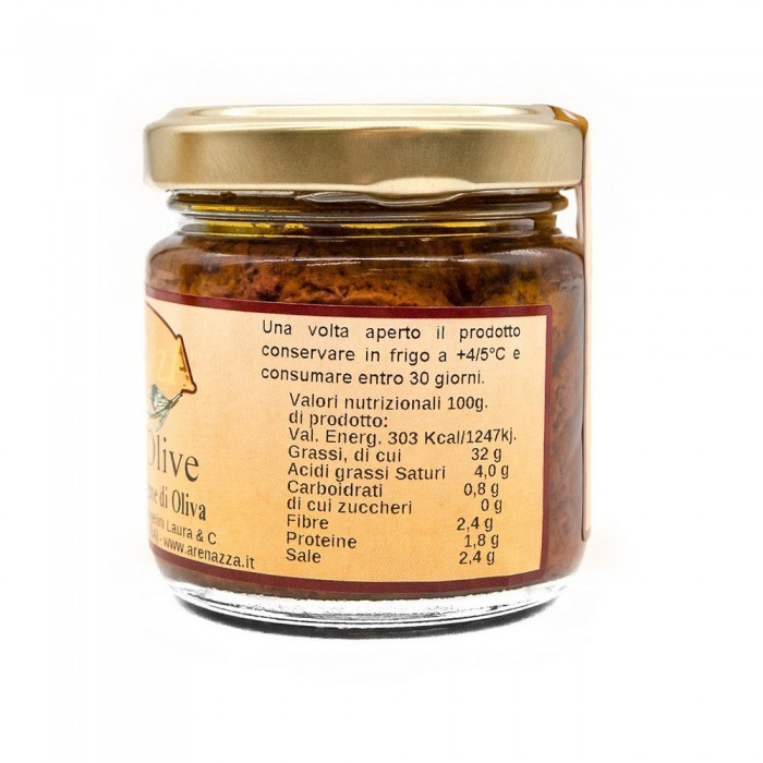 ARENAZZA PATE OLIVE NERE GR.100