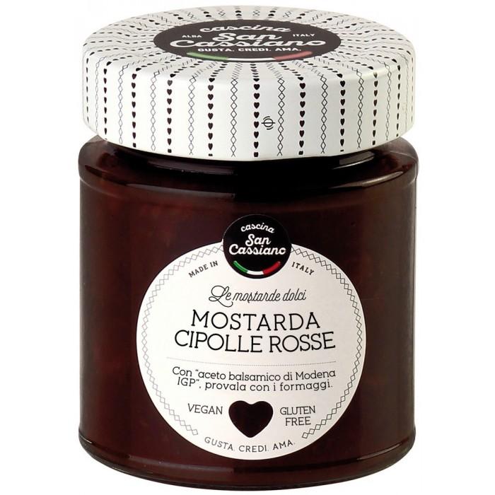 S.CASSIANO MOSTARDA CIPOLLE ROSSE GR.170