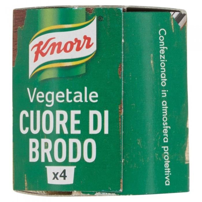 'KNORR CUORE BRODO VERD.x4 GR28'