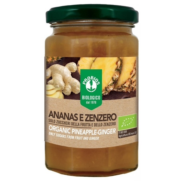 PROBIOS COMPOSTA ANANAS E ZENZERO BIO GR.330