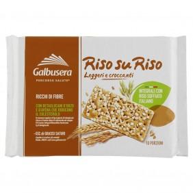 GALBUSERA CRACKERS RISO SU RISO INTEGRALE G.380