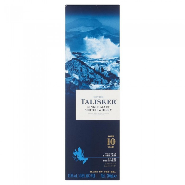 TALISKER WHISKY  10 YEARS CL.70