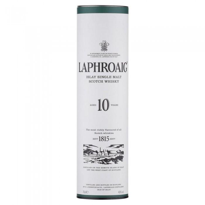 LAPHROAIG WHISKY  10 YEAR CL.70