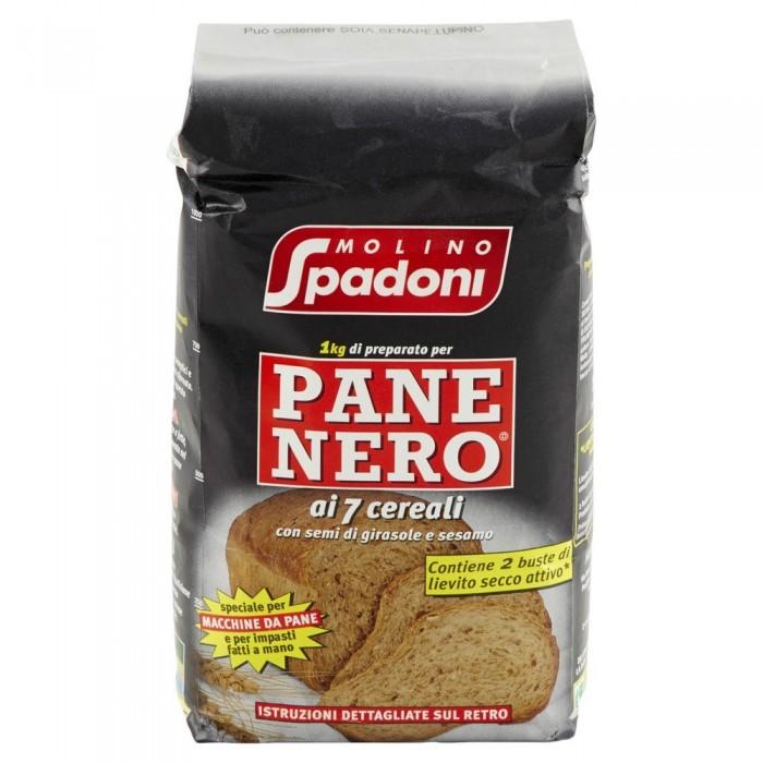 SPADONI FARINA PANE NERO KG.1