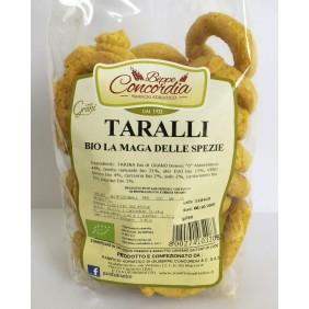 CONCORDIA TARALLI BIO LA MAGA DELLE SPEZIE GR.250