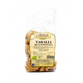 CONCORDIA TARALLI BIO SEMI DI LINO GR.250