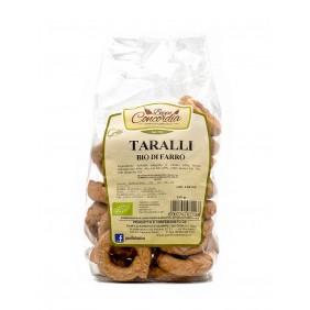 CONCORDIA TARALLI BIO FARRO GR.250