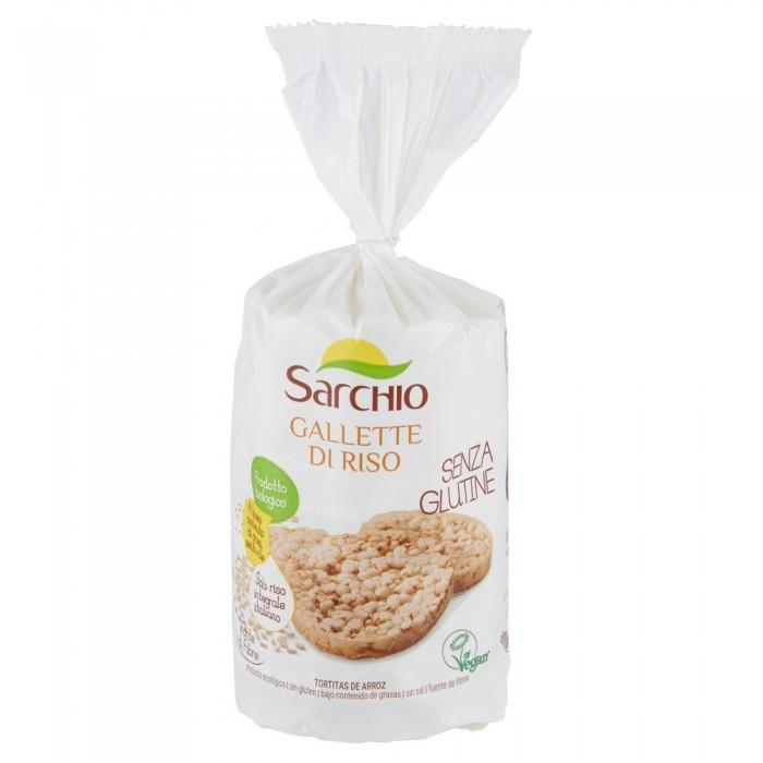 SARCHIO GALLETTE DI RISO BIO GR.100