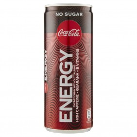 COKE ENERGY ZERO CL.25