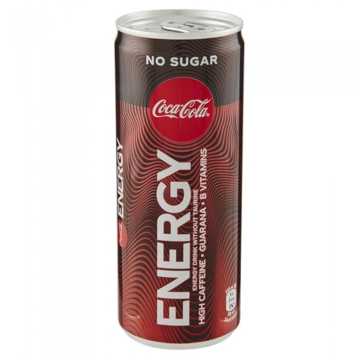COKE ENERGY ZERO CL.25