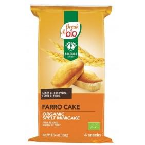 BREAK&BIO FARRO CAKE  X 4 GR.190