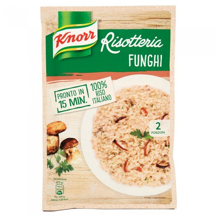 'RISOTTO KNORR FUNGHI GR.175'