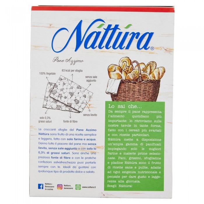 NATTURA PANE AZZIMO GR.200