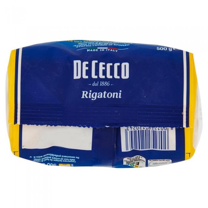 'DE CECCO RIGATONI 24 GR.500'