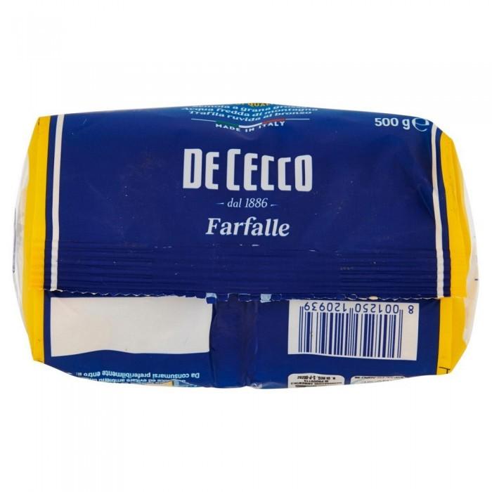 'DE CECCO FARFALLE GR.500'