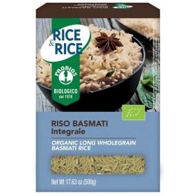 RICE&RICE RISO BASMATI INTEGRALE  GR.500