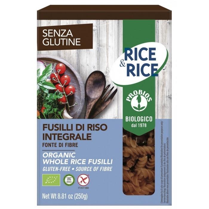 'FUSILLI RISO INT.RICE&RICE 250'