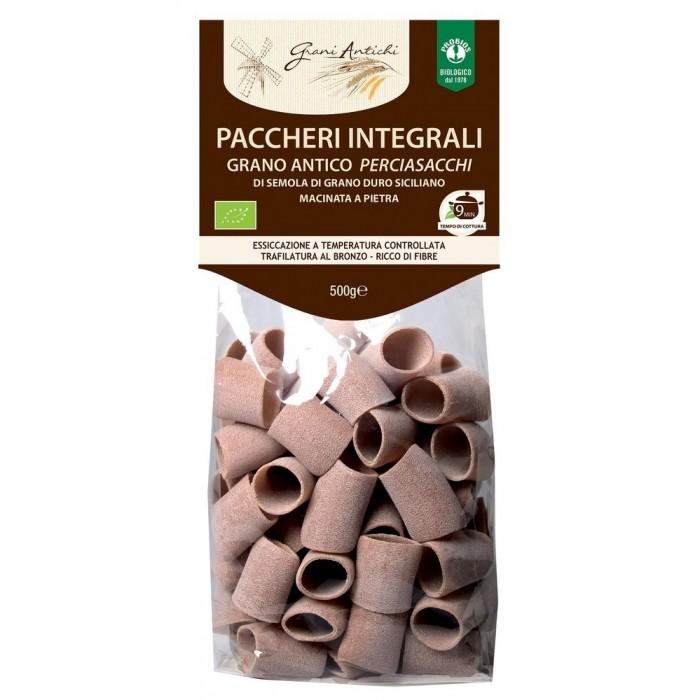 PACCHERI INTEGRALI GRANO PERCIASACCHI GR.500