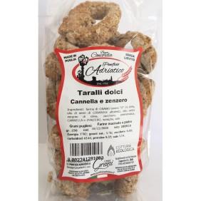 CONCORDIA TARALLI DOLCI BIO ZENZERO E CANNELLA GR. 250