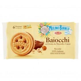 MULINO BIANCO BAIOCCHI SNACK NOCCIOLA  GR.336