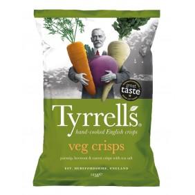 TYRRELLS CHIPS VEG.MIX TUBERI GR.100