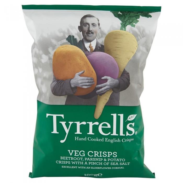 TYRRELS VEGAN CRISPS BARBABIETOLE E PATATE GR.100