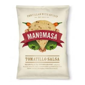 MANOMASA TORTILLAS TOMATO/QUINOA GR.160