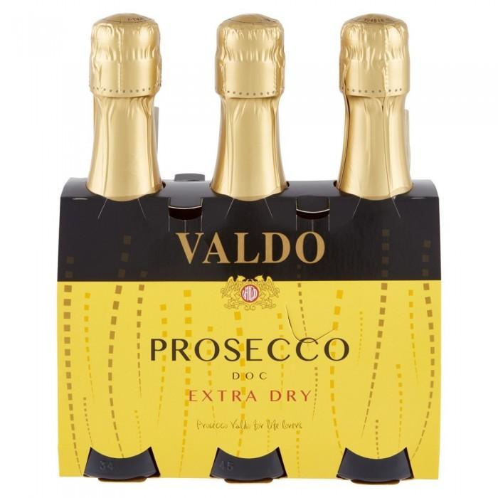 VALDO PROSECCO  EX.DRY CL.20x3