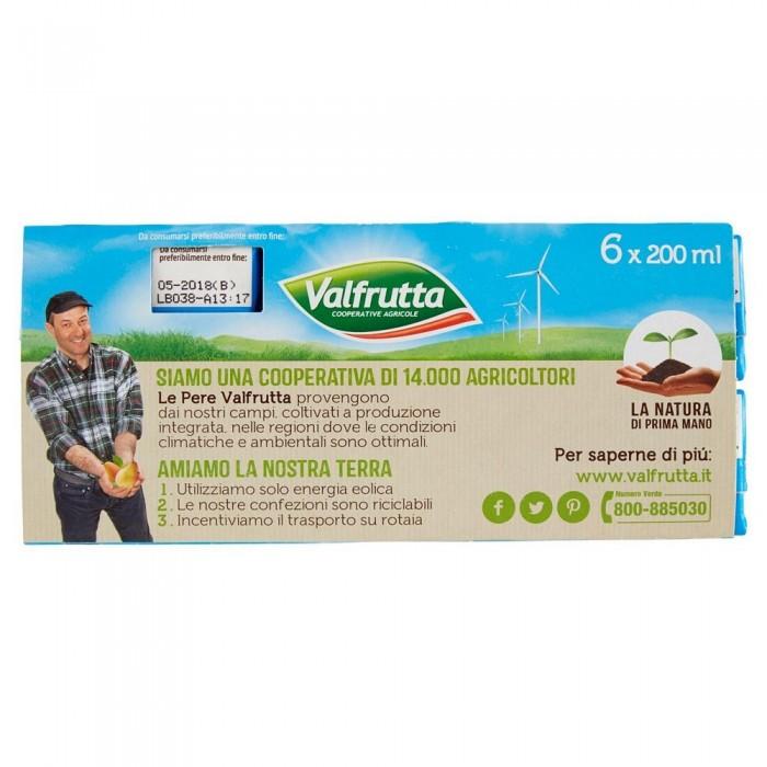 VALFRUTTA SUCCO  PESCA ML.200X6
