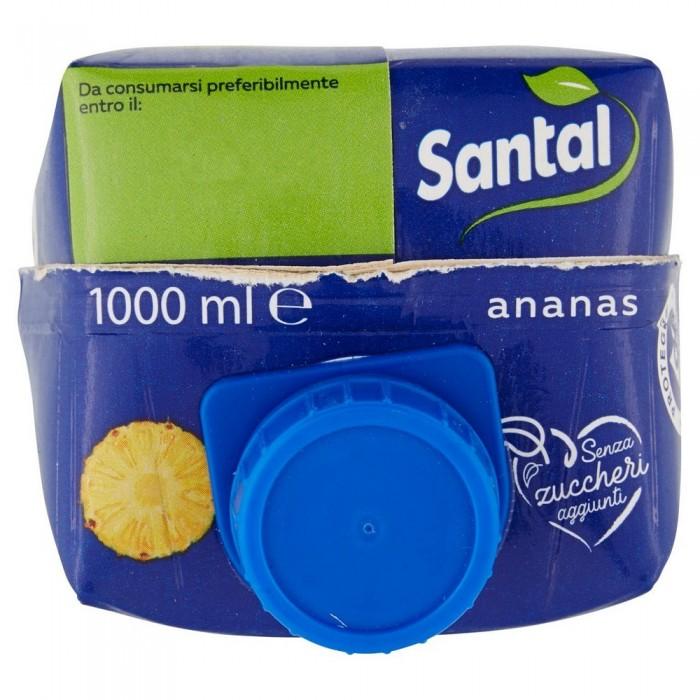 SANTAL SUCCO ANANAS 100% SENZA ZUCCHERO LT.1