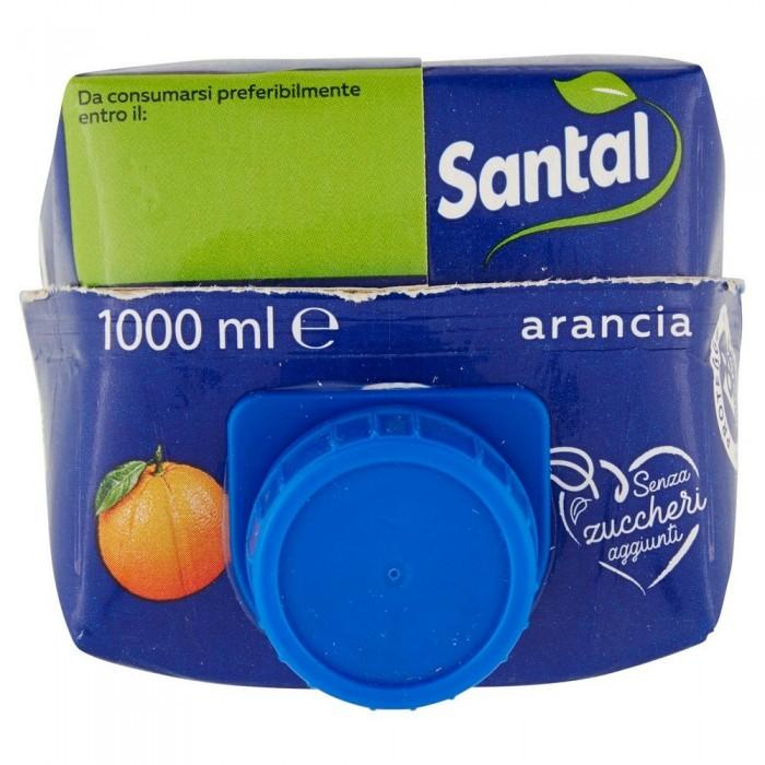 SANTAL SUCCO ARANCIA 100% SENZA ZUCCHERO LT.1