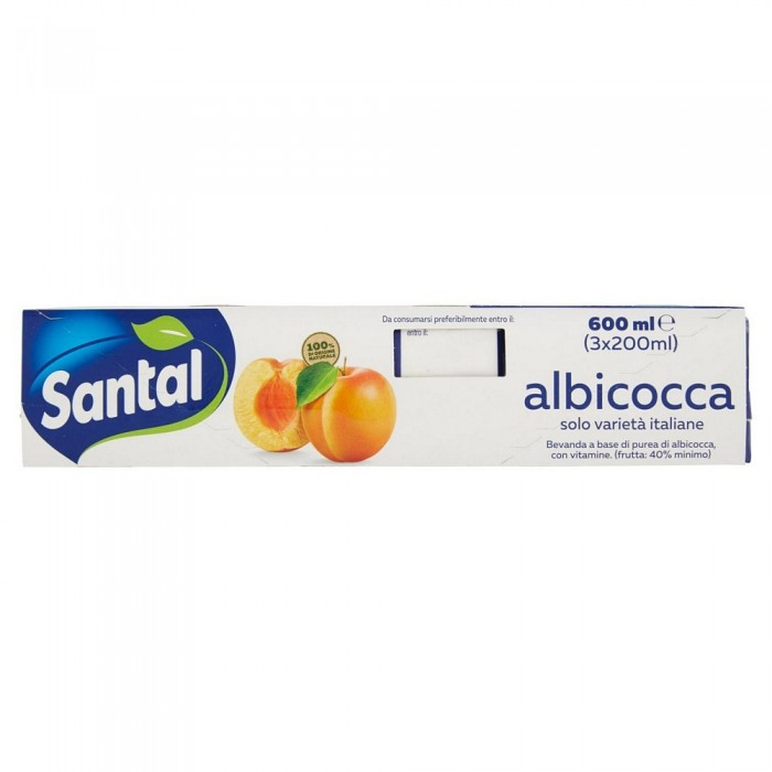 SANTAL SUCCO  ALBICOCCA ML200X3