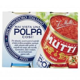 MUTTI POLPA POMODORO GR.400x2