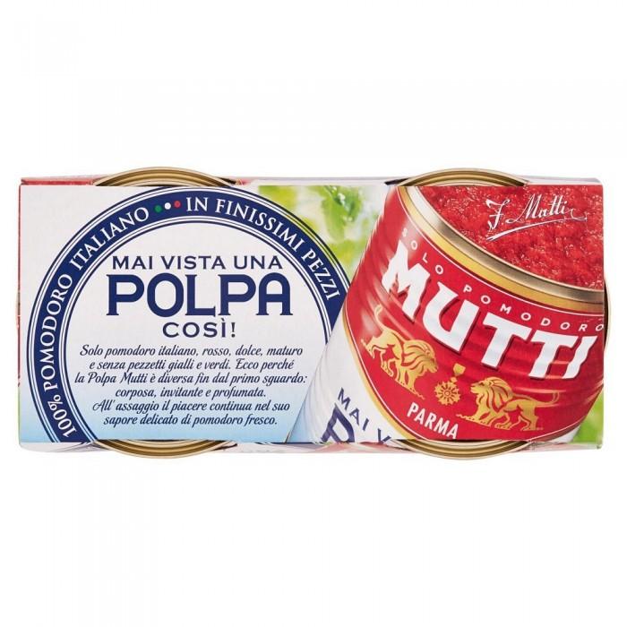 MUTTI POLPA POMODORO GR.210x2