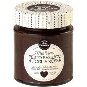 PESTO BASILICO FOGLIA ROSSA SAN CASSIANO G.130