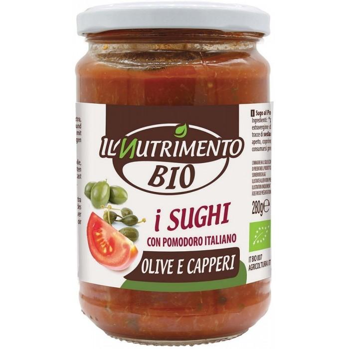 NUTRIMENTO SUGO OLIVE CAPPERI BIO GR.280