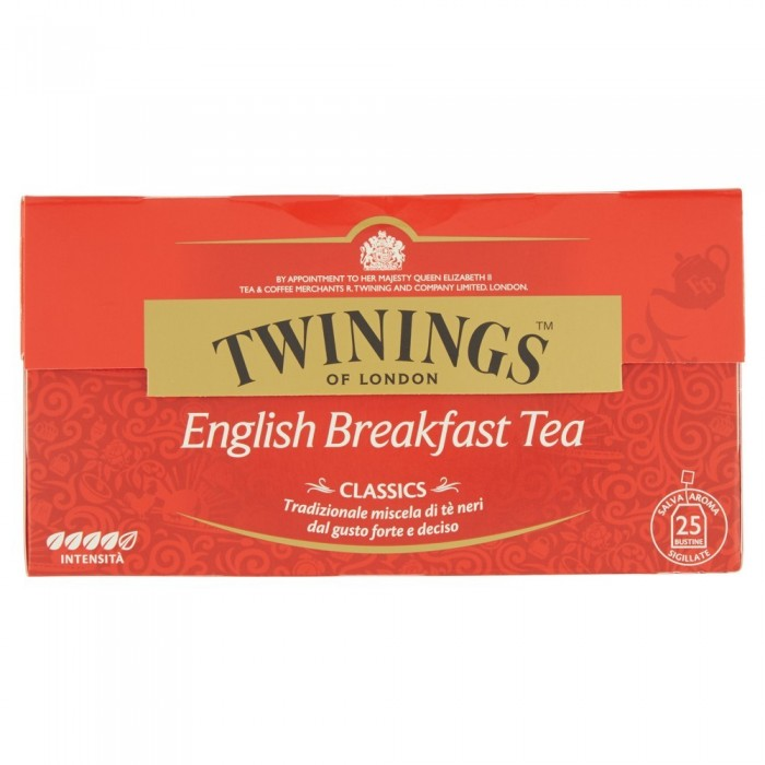 TWININGS TE ENGLISH BREAKFAST 25FL