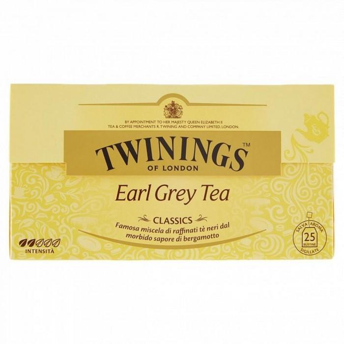 TWININGS TE EARL GREY 25 FL